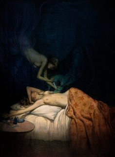 A_giant_claw_pierces_the_breast_of_a_sleeping_naked_woman,_a_Wellcome_V0017052.jpg (JPEG Image, 2281×3122 pixels)