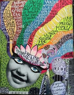 """""""It's All in the Details"""" > Art Journaling Tips From Kass Hall, at Cloth Paper Scissors Today. ^ch #art #journaling"""
