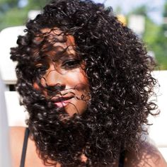The weather is heating up!  Get your hair ready like this #ONYCBeauty flowing with the Curly Addiction #hair collection.  Stay fabulous on the water!  Shop USA Now >>> ONYCHair.com Shop UK Now >>> ONYCHair.uk