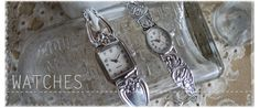 Great Selection of Silver Spoon Watches! What a great Mother's Day gift!