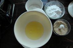 Elins gule bomber - Krem.no Food And Drink, Pudding, Eggs, Baking, Breakfast, Desserts, Morning Coffee, Tailgate Desserts, Deserts