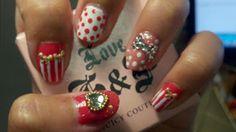 去Vegas的Bling Bling 指甲 / Bling Bling nails for Vegas   chichicho~ nail art addicts