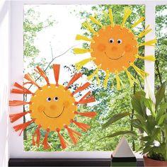 Basteln Mit Kindern Herbst Stuff maker who knots sun tinker felt Craft Ideas & Craft Supplies Sun Crafts, Diy Crafts To Do, Fall Crafts For Kids, Upcycled Crafts, Summer Crafts, Felt Crafts, Diy For Kids, Plate Crafts, Summer Kids