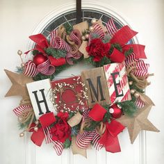 Christmas decoration christmas wreath Rustic by ShesCraftyTooTx