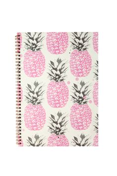 Typo A4 Notebook - Pineapple