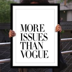 Saved by Koning Stuff (koning). Discover more of the best Typography, Motivated, Type, Vogue, and Tipografia inspiration on Designspiration Typography Quotes, Typography Prints, Typography Poster, Inspirational Posters, Motivational Posters, White Framed Art, Vogue, Framed Art Prints, Framed Wall