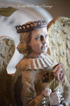 Old European Style Santos Angel Wings Crown by edithandevelyn
