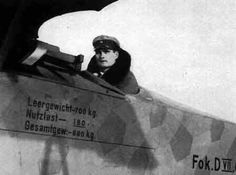 Rudolf Hess, Jasta 35b (waste of a good airplane)