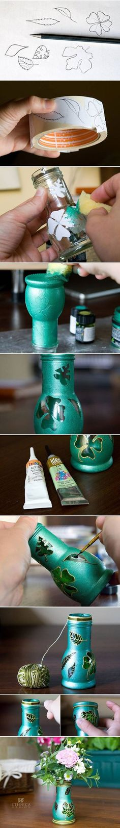 Handmade vase design -Tutorial