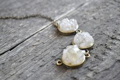 Rose quartz bracelet // Womens quartz bracelet mineral jewelry raw stone bracelet boho bracelet bohemian style gifts for her (32.00 USD) by TinyMountainsDesigns