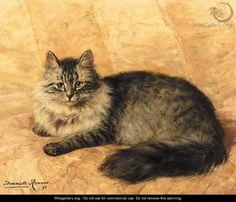 Peter the Cat | Henriette Ronner-Knip