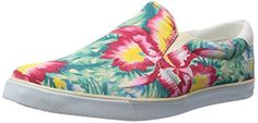 Gola Womens Delta Hibiscus Fashion Sneaker EcruMulti 6 M US *** Click on the affiliate link Amazon.com on image for additional details.