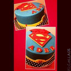 adee's superman cake