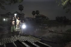 Lit by a Solar Night Light. Providing light to Cambodian fishing villages who otherwise have to rely on kerasene