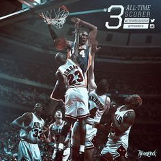 Part VII of the original Kobe vs Jordan Artwork Series spotlights Kobe Bryant passing Michael Jordan as the leading scoring in NBA History. The artwork showcases a fantasy matchup of Kobe dunking over Jordan in both of their primes while MJ's bulls ar… Kobe Vs Jordan, Jordan 23, Michael Jordan, Chigago Bulls, Nba Quotes, Nba Pictures, Kobe Bryant Nba, Nba Wallpapers, Your Brother