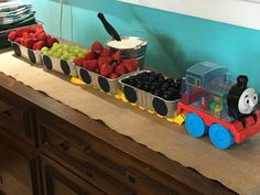 Train Fruit Tray or strawberry shortcake line