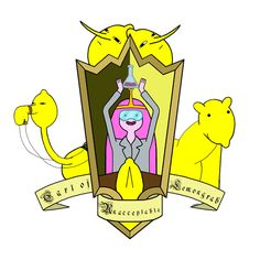 Mr.Caput | The Adventure Time heraldic shields collection ...