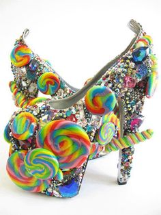 We are pretty sure that amongst all the candy there are a few rhinestones and crystal fancy stones!  www.harmanbeads.com