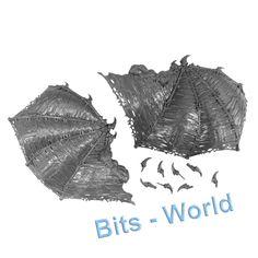 Warhammer 40K Bits Chaos Daemon Khorne Bloodthirster Wings | eBay Warhammer 40k Bits, Chaos Daemons, Wings, Miniatures, Ebay, Feathers, Feather, Ali, Minis