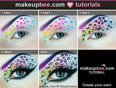 Step-By-Step Tutorial for Neon Leopard WITH TUTORIAL