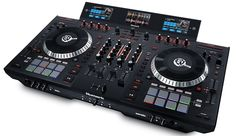 The NS7 III is Numark's flagship four deck DJ controller designed to integrate seamlessly with Serato DJ. This controller builds on the full featured NS7 II (check out DJTT's review) by adding three high resolution color screens (similar to what's on the Numark NV).
