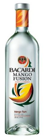 Bacardí Mango Fusion now available in the US
