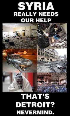 Americans need to clean up America first. This is what happens when you don't care about your homeland.