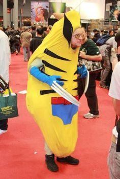 Imagen de El Más Gracioso Disfraz O Cosplay De Wolverine