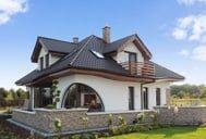 Dom w zefirantach Mansions, House Styles, Home Decor, Country Houses, Detached House, Projects, Dekoration, Decoration Home, Manor Houses