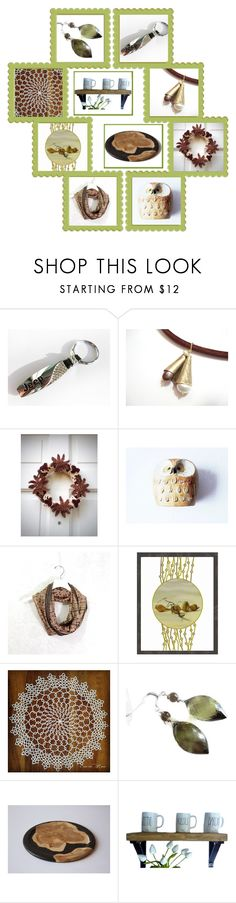 """All Around Brown"" by fibernique ❤ liked on Polyvore"