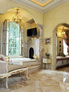 stunning bathroom.   Perfect perfect perfect!!