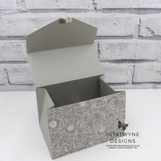 Fun Fold Cards, Folded Cards, Large Clutch Bags, Gift Box Packaging, Circle Punch, Basic Grey, Note Paper, Paper Gifts, Birthday Fun