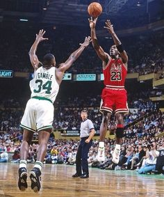 Michael Jordan Vs Kevin Gamble