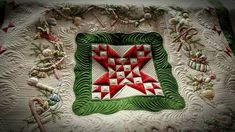 Embroidered Christmas Quilt,... - Quilt Pictures, Patterns & Inspiration... - APQS Forums