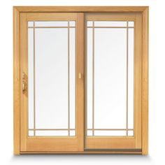 Andersen 36 in. x 80 in. 400 Series Frenchwood Sliding Patio Door White Fixed Panel, Universal Handing-9122370 - The Home Depot