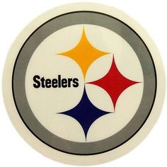 WinCraft NFL Pittsburgh Steelers 63065011 Perfect Cut Color Decal, x Black Steelers Football, Pittsburgh Steelers Logo, Steelers Stuff, Patriots Football, Nfl Logo, Team Logo, Steelers Blanket, National Football League, Sports