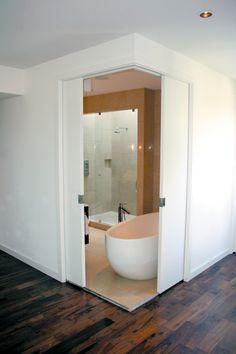 corner opening pocket doors - Google Search & Full-Height corner meeting pocket doors | Cavity Sliders ... pezcame.com