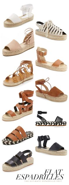 ultimate guide to flat espadrilles for spring and summer