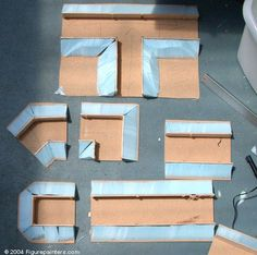 Here is a nice little tutorial on how to make modular trenches for Warhammer 40k, or any other min...