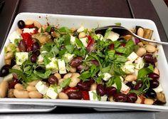Middelhavssalat Opskrift af Kirsten Meyer - Cookpad Little Bit, Cobb Salad, Eggplant
