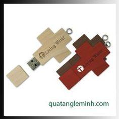USB quà tặng - USB gỗ 009