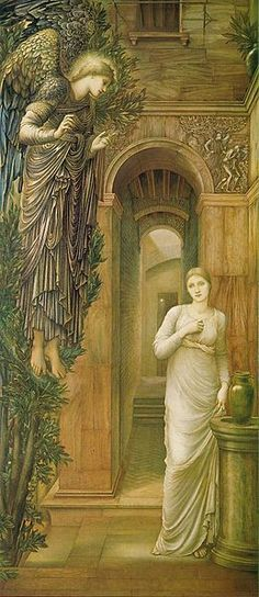 The Annunciation by Burne-Jones