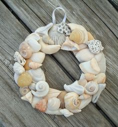 .shell wreath