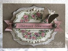Apothecary Art - love the layers - would like to try with WMS frames, nesty dies and individual flower/leaf stamp sets
