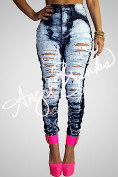 Loooovveee them jeans Sexy Jeans, Ripped Jeans, Skinny Jeans, Fashion Killa, Fashion Addict, Fashion Outfits, Womens Fashion, Fashion Trends, Fashion 101