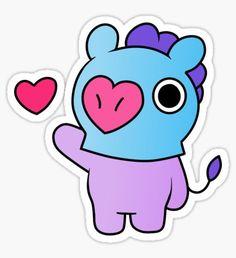 Bts Chibi, Tumblr Stickers, Diy Stickers, Printable Stickers, Bts Birthdays, Bts Backgrounds, Bts Drawings, Hoseok Bts, Line Friends