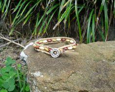 Wooden bead Wrap Bracelet $3.00 BR078