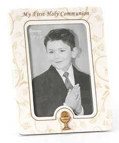 Loving this Filigree 'My First Holy Communion' Frame on #zulily! #zulilyfinds