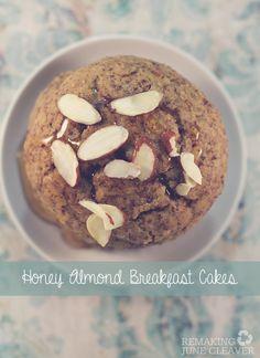 Paleo Honey Almond Breakfast Cakes - Remaking June Cleaver