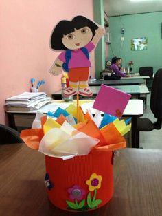 Centro de mesa Dora.